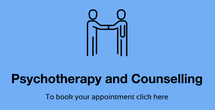 Free Counselling service on the NHS. Click Here